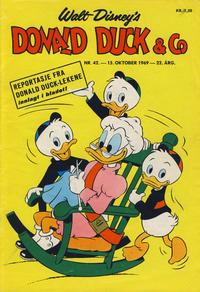 Cover Thumbnail for Donald Duck & Co (Hjemmet / Egmont, 1948 series) #42/1969