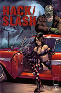 Cover Thumbnail for Hack/Slash (Image, 2011 series) #12 [Cover B by Mark dos Santos]