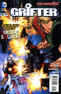 Cover Thumbnail for Grifter (DC, 2011 series) #15