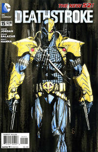 Cover Thumbnail for Deathstroke (DC, 2011 series) #15