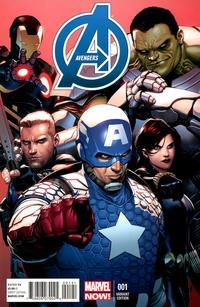 Cover Thumbnail for Avengers (Marvel, 2013 series) #1 [Variant Cover by Steve McNiven]
