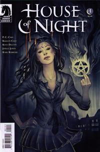 Cover Thumbnail for House of Night (Dark Horse, 2011 series) #1 [Steve Morris Variant Cover]