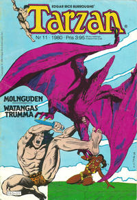 Cover Thumbnail for Tarzan (Atlantic Förlags AB, 1977 series) #11/1980