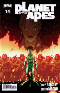 Cover Thumbnail for Planet of the Apes (Boom! Studios, 2011 series) #14 [Cover B]