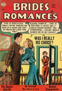 Cover Thumbnail for Brides Romances (Quality Comics, 1953 series) #6
