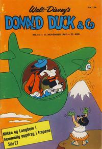 Cover Thumbnail for Donald Duck & Co (Hjemmet / Egmont, 1948 series) #46/1969