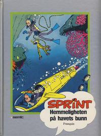 Cover Thumbnail for Sprint [Seriesamlerklubben] (Semic, 1986 series) #6 - Hemmeligheten på havets bunn