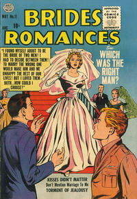 Cover Thumbnail for Brides Romances (Quality Comics, 1953 series) #11