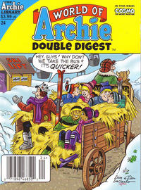 Cover Thumbnail for World of Archie Double Digest (Archie, 2010 series) #24 [Newsstand]