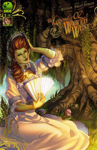 Cover Thumbnail for Legend of Oz: The Wicked West (Big Dog Ink, 2012 series) #2 [Cover B]