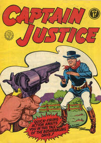 Cover Thumbnail for Captain Justice (Horwitz, 1963 series) #4