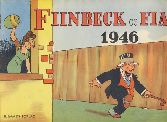 Cover for Fiinbeck og Fia (Hjemmet / Egmont, 1930 series) #1946