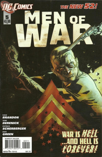 Cover for Men of War (DC, 2011 series) #5