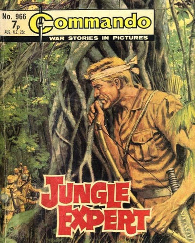 Cover for Commando (D.C. Thomson, 1961 series) #966