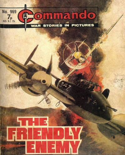 Cover for Commando (D.C. Thomson, 1961 series) #969
