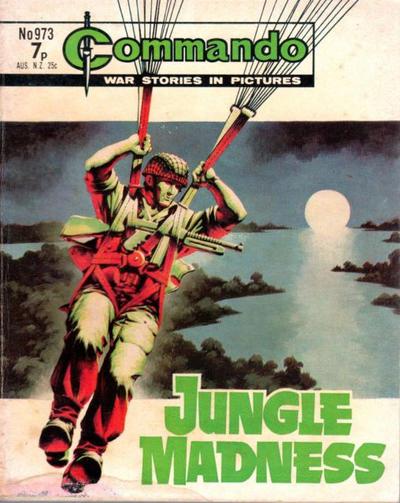 Cover for Commando (D.C. Thomson, 1961 series) #973