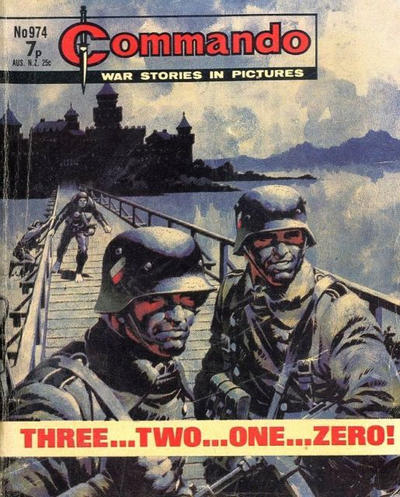 Cover for Commando (D.C. Thomson, 1961 series) #974