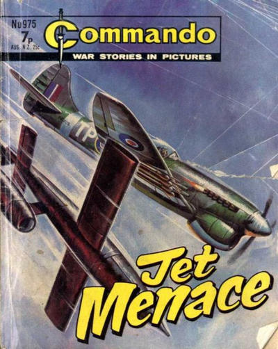 Cover for Commando (D.C. Thomson, 1961 series) #975