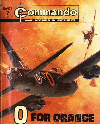 Cover for Commando (D.C. Thomson, 1961 series) #977