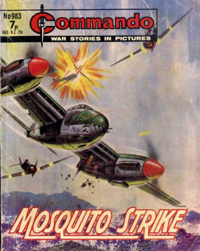 Cover for Commando (D.C. Thomson, 1961 series) #983