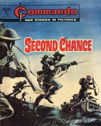 Cover for Commando (D.C. Thomson, 1961 series) #989