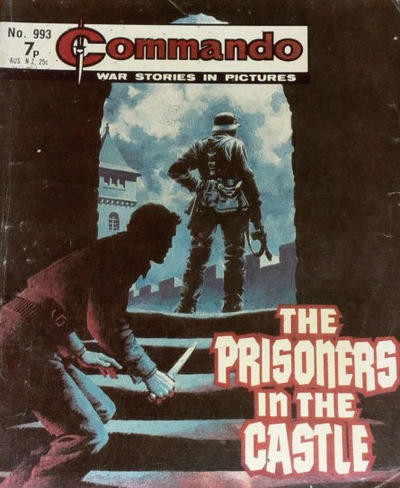 Cover for Commando (D.C. Thomson, 1961 series) #993