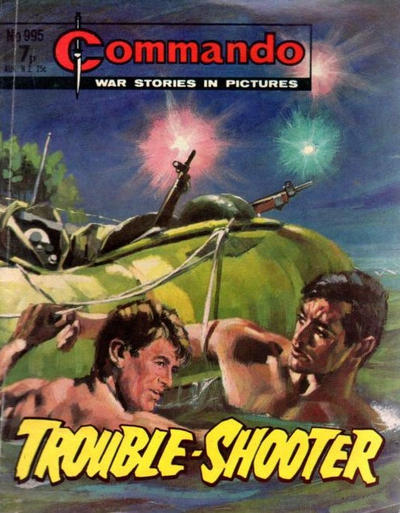 Cover for Commando (D.C. Thomson, 1961 series) #995