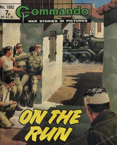 Cover for Commando (D.C. Thomson, 1961 series) #1002