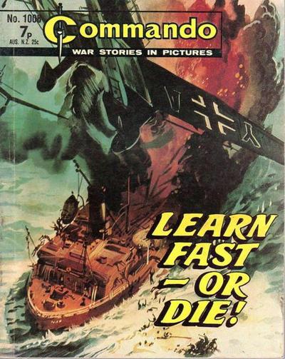 Cover for Commando (D.C. Thomson, 1961 series) #1008