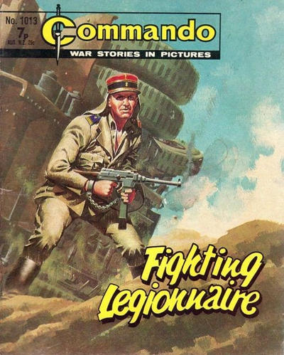 Cover for Commando (D.C. Thomson, 1961 series) #1013