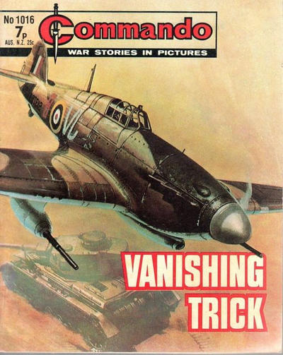Cover for Commando (D.C. Thomson, 1961 series) #1016