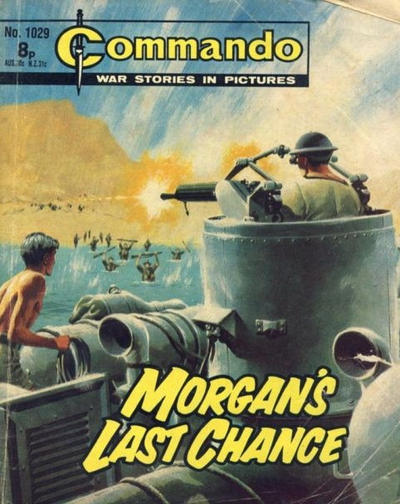 Cover for Commando (D.C. Thomson, 1961 series) #1029