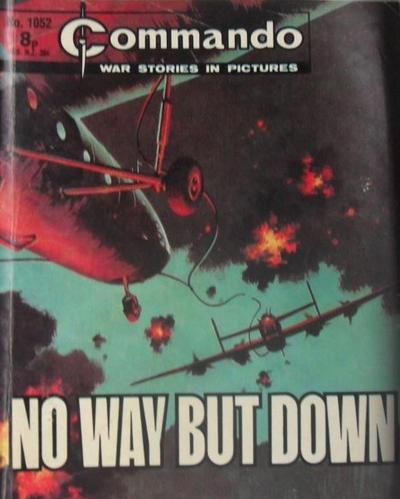 Cover for Commando (D.C. Thomson, 1961 series) #1052