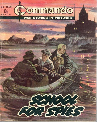 Cover for Commando (D.C. Thomson, 1961 series) #1058