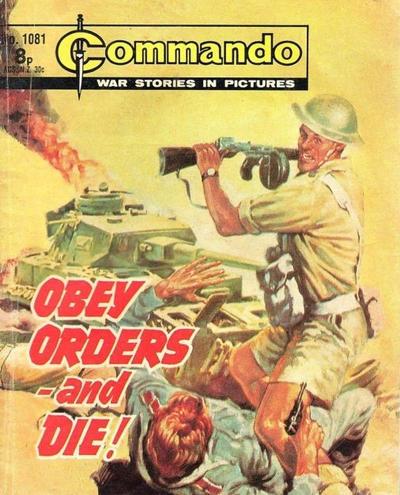 Cover for Commando (D.C. Thomson, 1961 series) #1081