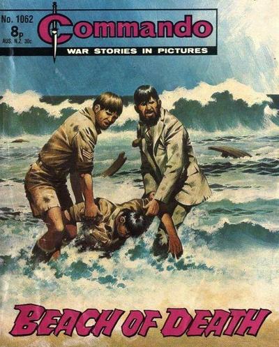 Cover for Commando (D.C. Thomson, 1961 series) #1062