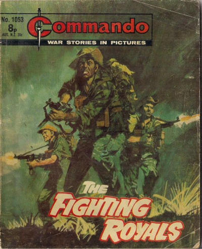 Cover for Commando (D.C. Thomson, 1961 series) #1053