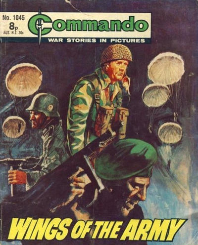 Cover for Commando (D.C. Thomson, 1961 series) #1045