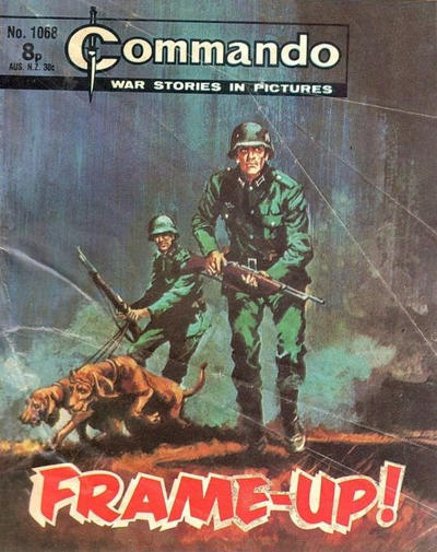 Cover for Commando (D.C. Thomson, 1961 series) #1068