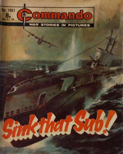 Cover for Commando (D.C. Thomson, 1961 series) #1061