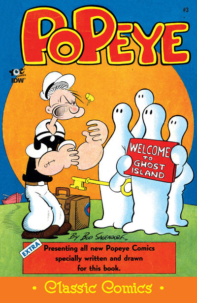 Cover for Classic Popeye (IDW, 2012 series) #3