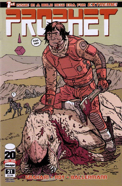 Cover for Prophet (Image, 2012 series) #21 [Second Printing]