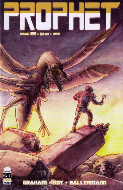 Cover for Prophet (Image, 2012 series) #22 [Second Printing]