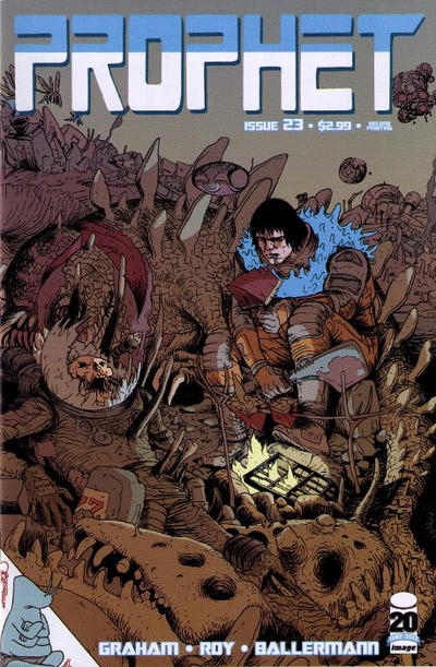 Cover for Prophet (Image, 2012 series) #23 [Second Printing]