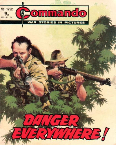 Cover for Commando (D.C. Thomson, 1961 series) #1252