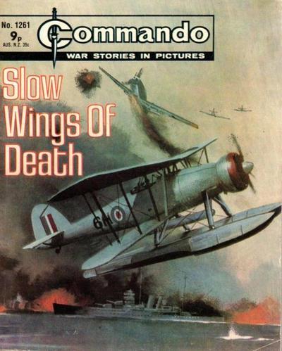 Cover for Commando (D.C. Thomson, 1961 series) #1261