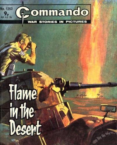 Cover for Commando (D.C. Thomson, 1961 series) #1263