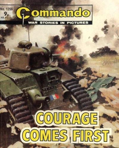 Cover for Commando (D.C. Thomson, 1961 series) #1266