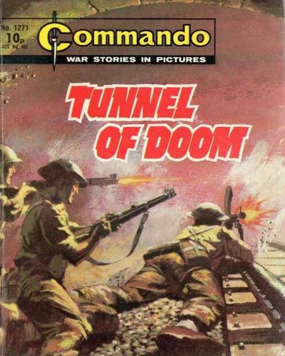 Cover for Commando (D.C. Thomson, 1961 series) #1271