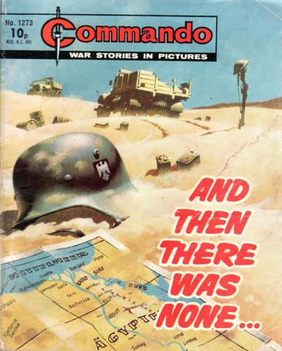 Cover for Commando (D.C. Thomson, 1961 series) #1273